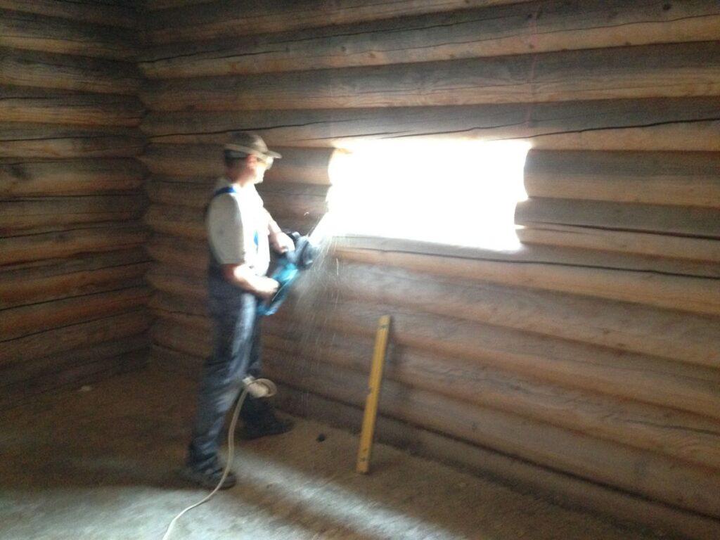 Підготовка віконних прорізів