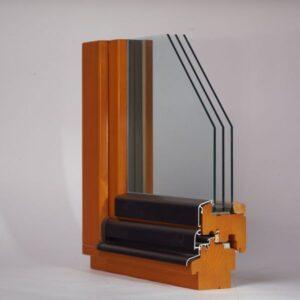 дерев'яне вікно WOODWIN 78