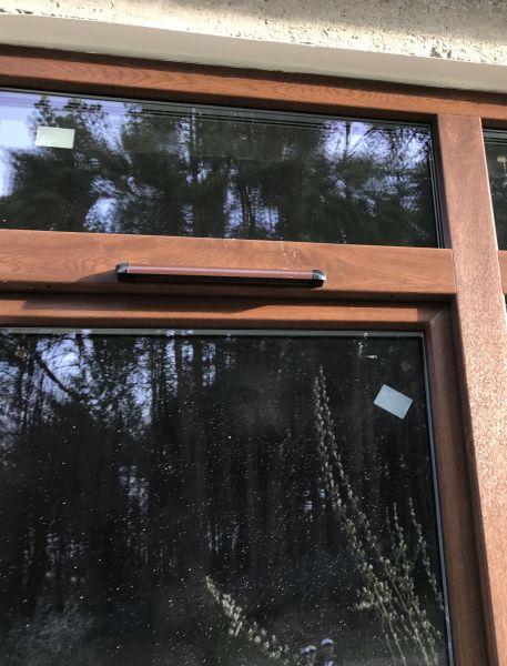 встановлення віконних провітрювачів