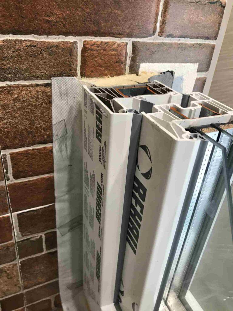 Приклад теплого монтажу вікон(по ДСТУ)